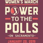 Sacramento women march 2019 power to the polls