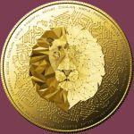 Lion - gold