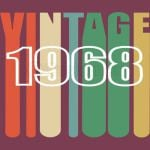 50th-Birthday-Retro 1968