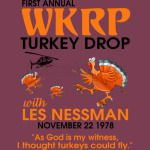 First annual WKRP Turkey Drop with Les-Nessman