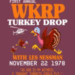 First annual WKRP Turkey Drop with Les-Nessman Funny