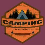 Camping Is My Therapy!