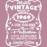 Vintage 1969 - 50th birthday gift