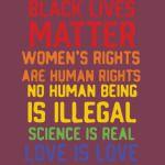 activism - black is matter
