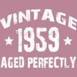1959 vintage 60th birhtday gift