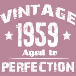 1959 vintage 60th birthday shirt