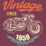 vintage since 1959 - 60th birthday gift