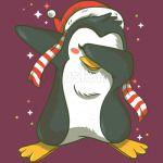 Christmas Penguin Dabbing