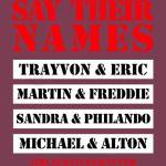 Say their names ( Black lives matter )