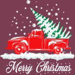Old Truck Christmas Tree