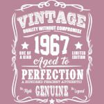 Vintage Limited 1967 Edition - 50th Birthday Gift