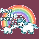 Best Unicorn Dad