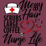 Mess Hair Scrubs