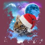 Santa Baby Tiger MidNight Forest