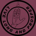 Live Long and Prosper Spock hand Patch