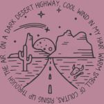 On A Dark Desert Highway Funny