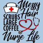Mess Hair Scrubs