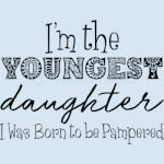 IM THE YOUNGEST
