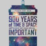 900 Years of Time and Space