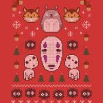 Spirited Away ugly sweater