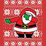 Dabbing Santa Ugly Sweater