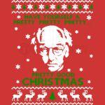 LARRY DAVID PRETTY GOOD CHRISTMAS UGLY SWEATER