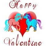 Happy Valentine Ponies