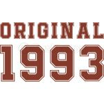 25th birthday Original 1993