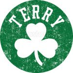 Scary Terry Rozier Celtic Shamrock