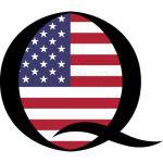 q anon Q flag