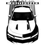 Camaro 6th SS - Dark Transparent/Multi Color