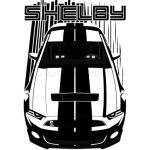 Shelby GT500 S197 - Dark Transparent/Multi Color