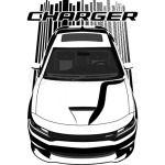 Charger - Dark Transparent/Multi Color