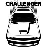 Challenger - Dark Transparent/Multi Color