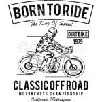 Born to Ride Ride to Live T-Shirt