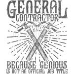 General Contractor T-Shirt