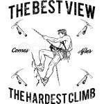 The Hardest Climb T-Shirt