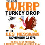 First annual WKRP Turkey Drop with Les-Nessman Funny Shirt