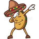 Dabbing Taco