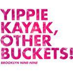 Yippie Kayak, Other Buckets! Purple Vintage