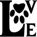 Love Dog Cat Paw 3