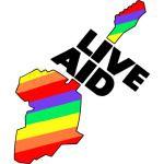 Live Aid Band Aid 1985 Symbol