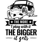 The More I Play With It The Bigger It Gets Jeeping