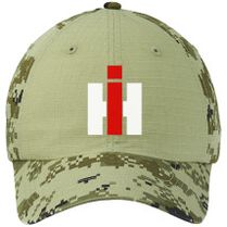 International Harvester Farmall Colorblock Camouflage Cotton Twill Cap  (Embroidered) - Customon.com 8ec560a7512c