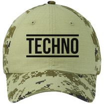 Techno Youth Six-Panel Twill Cap (Embroidered)  d526f0386b76