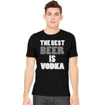 b0810ae24c011 Best Beer Is Vodka Men s Tank Top - Customon