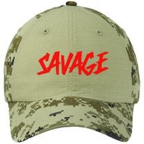 Savage Martinez Twins Colorblock Camouflage Cotton Twill Cap (Embroidered)  - Customon.com e34bc238f63f