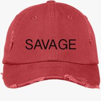 Savage Martinez Twins Distressed Cotton Twill Cap (Embroidered) -  Customon.com 1217894053ba