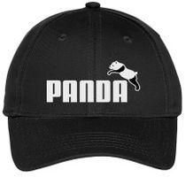c85e1859262 Panda Not Puma Youth Six-Panel Twill Cap
