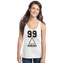 31af1a03d712b les twins 99 problems Women s Racerback Tank Top